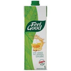 Feel Good Chá Verde com Laranja e Gengibre 1 Litro
