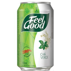 Feel Good Chá Verde com Limão Lata 330ml