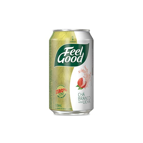 Feel Good Chá Branco com Lichia Lata 330ml