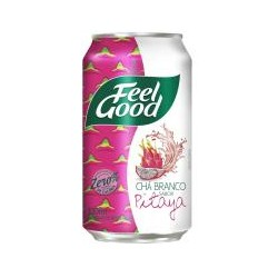 Feel Good Chá Branco com Pitaya Lata 330ml