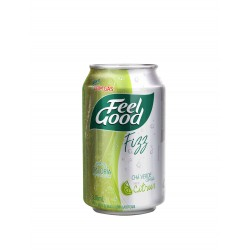 Feel Good Fizz Chá Verde com gás Citrus Lata 330ml