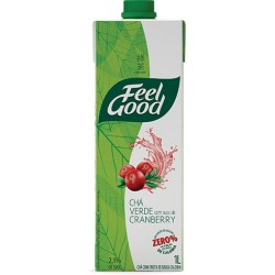Feel Good Chá Verde com Cranberry 1 Litro
